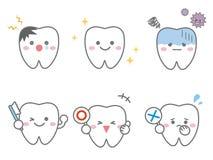 Dent conditions1 illustration libre de droits