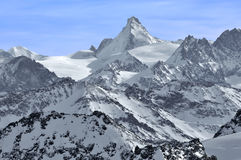 The Dent d'Herens Stock Photo