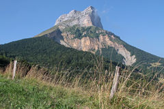 Dent de Crolles Royalty Free Stock Photo