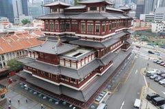 Dent de Singapour Bouddha et temple de relique Image stock