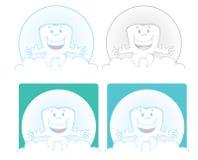 Dent de sourire illustration stock