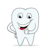 dent de sourire de santé heureuse de dentiste Photo libre de droits