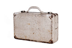 Dent old metal case Royalty Free Stock Images