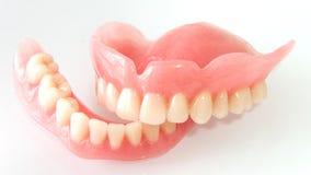Dentaduras acrílicas foto de stock royalty free