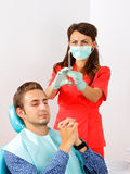 Dental anesthesia Royalty Free Stock Photo