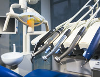Dental appliances Royalty Free Stock Photos