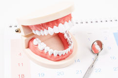 Dental appointment concept. Stock Photos
