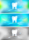 Dental background Stock Images