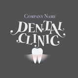 Dental Background with Healthy Teeth. Vector illustration Royalty Free Stock Photography