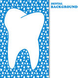 Dental background Royalty Free Stock Photo