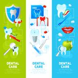 Dental Banner Set Royalty Free Stock Images