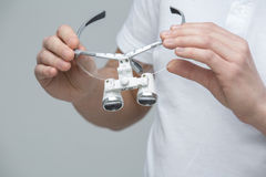 Free Dental Binocular Loupes Stock Photo - 66103960