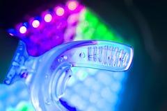 Dental bracket aligner vibrator. Dental bracket aligner accelerator vibrator for orthodontic straighteners, brackets and aligners Stock Photos
