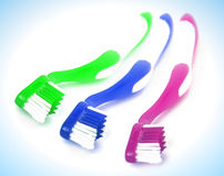 Dental brush Stock Images