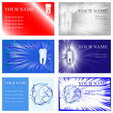 Dental Business Cards Royalty Free Stock Images