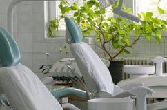 Dental cabinet stock image