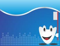 Dental Care. Background, business card template stock illustration