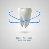 Dental care background Stock Photography