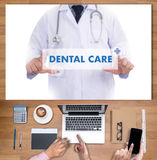DENTAL CARE Beautiful woman with toothbrush  , Healthy smile and Royalty Free Stock Photo