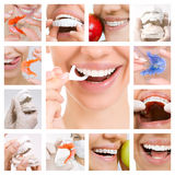 Dental Care collage (Dental Services) Royalty Free Stock Photo