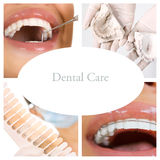 Dental Care Collage (dental services) stock images