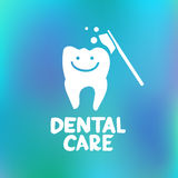 Dental care design concept Royalty Free Stock Photography