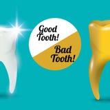 Dental care design Royalty Free Stock Image