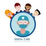 Dental care design Stock Photography