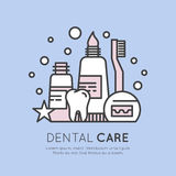 Dental Care and Disease  Royalty Free Stock Image