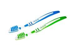 Dental care equipment white background. Royalty Free Stock Image