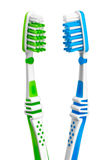 Dental care equipment white background. Royalty Free Stock Photo