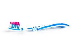 Dental care equipment white background. Stock Image