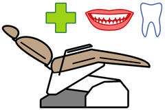 Dental Care Illustration (Vector) Royalty Free Stock Photo