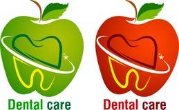 Dental care logo Royalty Free Stock Image