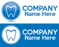 Dental care logo Royalty Free Stock Photography