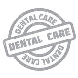 Dental Care rubber stamp Stock Photography