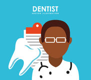 Dental care service. Design, vector illustration eps10 graphic Royalty Free Stock Photography