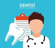 Dental care service. Design, vector illustration eps10 graphic Stock Photo