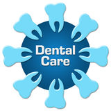 Dental Care Teeth Circular Royalty Free Stock Photo