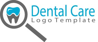 Dental Care and template logo Stock Photography