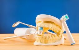 Dental care  tools Stock Photo