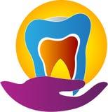 Dental care. A vector drawing represents dental care design Stock Photos