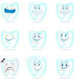Dental cartoon Royalty Free Stock Images