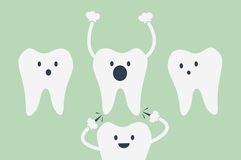 Dental cartoon vector Stock Photo