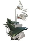 Dental chair. The dentist is working in the dental chair Royalty Free Stock Photography