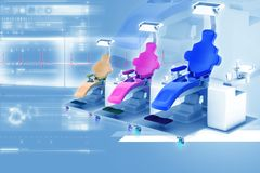 Dental chair Stock Images