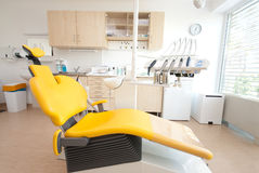 Dental Chair III. A modern dental room the clinic Royalty Free Stock Photography
