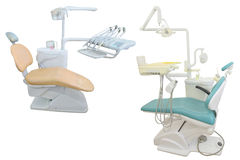 Dental chair Royalty Free Stock Photo