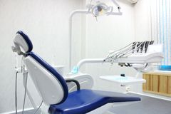 Dental chair Stock Image
