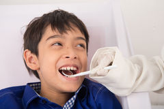 Dental check up please Royalty Free Stock Photography